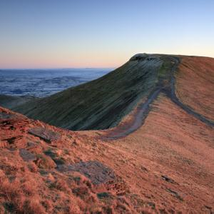 Pen y Fan from Corn Du at Sunrise