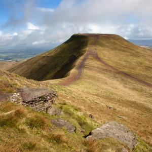 Pen y Fan from Corn Du