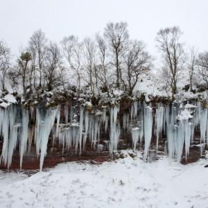 Giant Icicles on the Taf Fechan