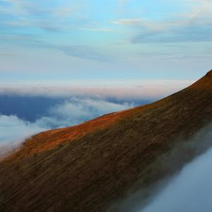 Pen y Fan Summit Above the Cloud