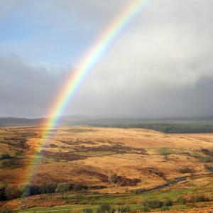 Rainbow Over Blaen Nedd