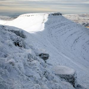Corn Du in Snow