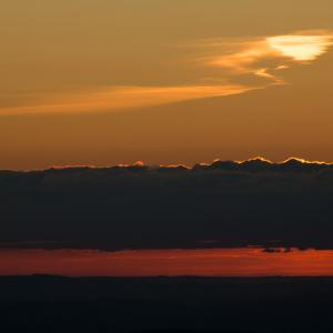 Sunset from Pen y Fan